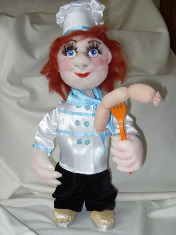 Моя первая каркасная кукла