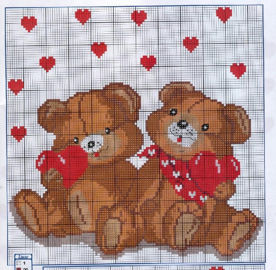 Картинки для вышивания крестиком с любовью