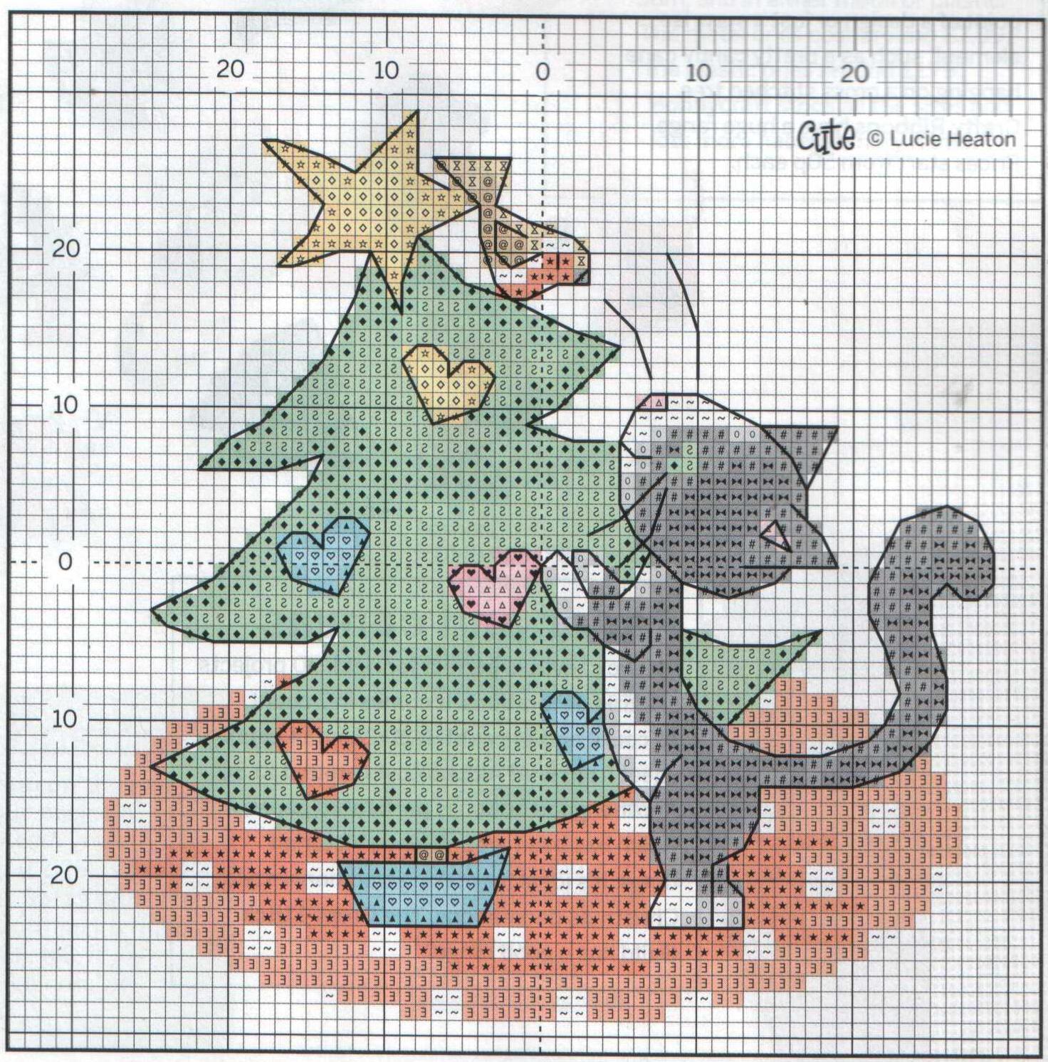 Аватарку, схемы вышивки открытки на новый год