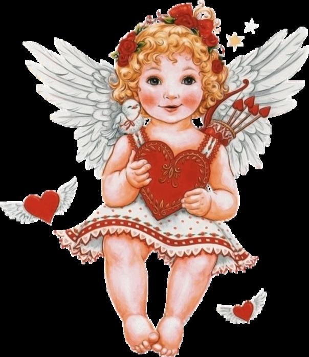 даты картинки ангелов ко дню святого валентина теней, румян