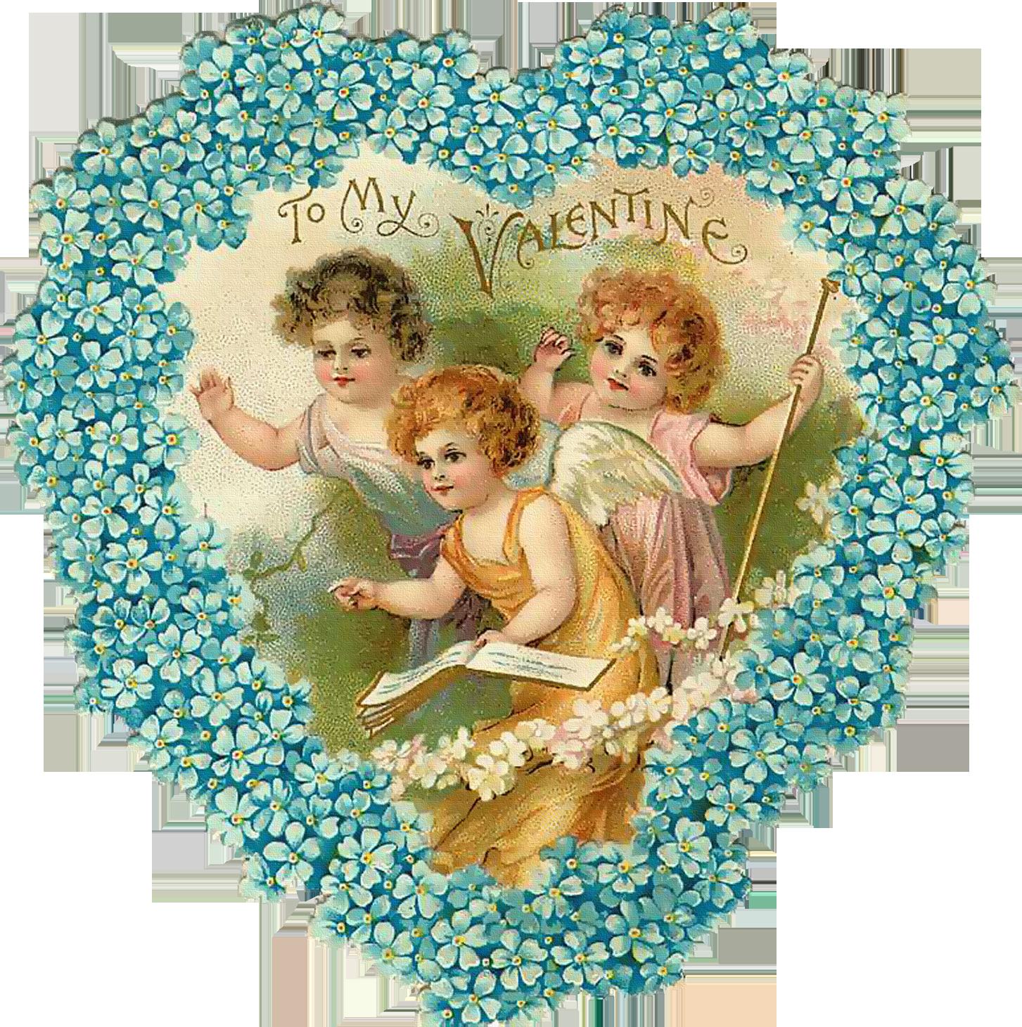 Картинки для декупажа святой валентин